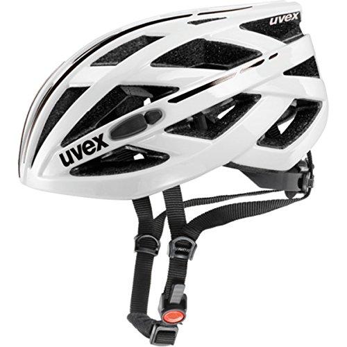 - Uvex 2017 I-VO Race Bicycle Helmet - 410410 (White - 52-57 m)