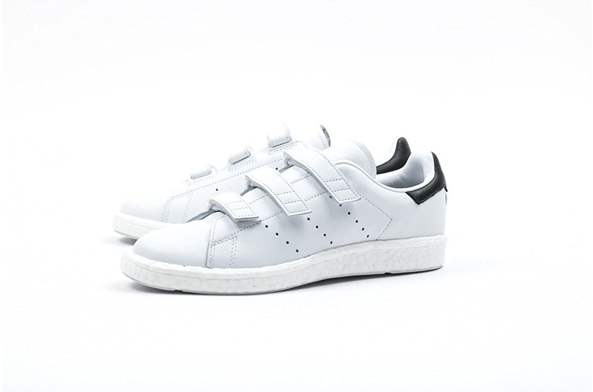 finest selection ce1fe 5bb74 Amazon.com   adidas Originals White Mountaineering Stan Smith Boost Running  Shoes CG3651, 13   Fashion Sneakers
