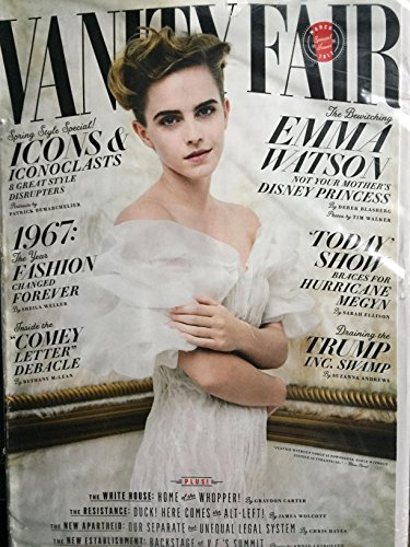 - Vanity Fair Magazine (March, 2017) Emma Watson Cover