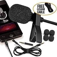 RockDaMic Professional Lavalier Microphone [FREE BONUS...