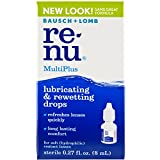 ReNu MultiPlus Lubricating & Rewetting Drops .27 fl oz (8 ml)