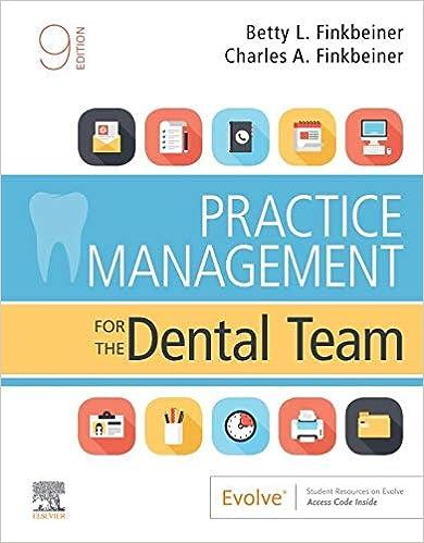 Practice Management for the Dental Team E-Book, 9th Edition - Original PDF