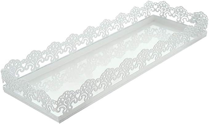xnbnsj - Bandeja rectangular para cupcakes y tartas, para decoración del hogar As Show: Amazon.es: Hogar