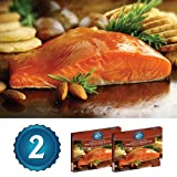 2-8oz Smoked Copper River Sockeye Salmon (1lb total)