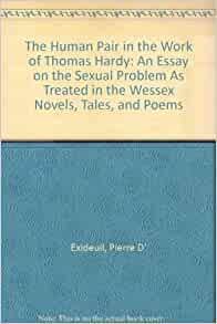 wessex tales essay Curious and amusing collection of critical essays on his con temporaries in fiction   pet major, a delightful wessex tale, showing, however, less power than the.