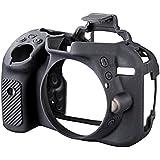 Walimex Pro easyCover - Funda de protección para Nikon D5300 (incluye protector de pantalla), color negro