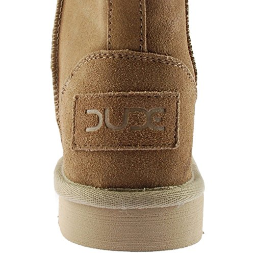 Ladies Tan Suede Dude Boot Women's Shoes Sella qwXnxRBv
