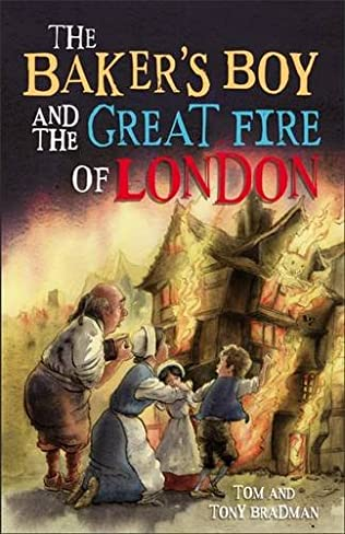 book cover of The Baker\'s Boy and the Great Fire of London