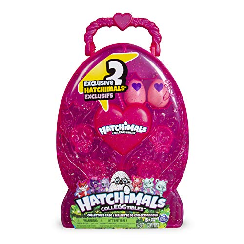 Hatchimals CollEGGtibles  Collectors Case with 2 Exclusive Hatchimals CollEGGtibles for Ages 5 and Up