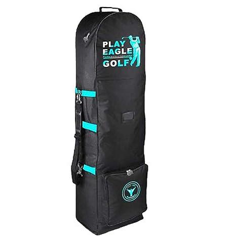 PLAYEAGLE 2018 Nylon Golf Aviation Bag with Burglarproof Godlen Zipper  Strap Men Women Golf Travel Bags 3d5e280a33