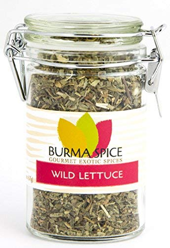 Wild lettuce leaf (100% Kosher Lactuca Virosa) l Natural opium lettuce for pain relief and sleep aid l 1 Ounce l