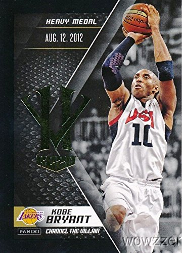 (Kobe Bryant 2016 Panini NBA Basketball Kobe Bryant VILLAIN Card from Limited Edition Box Set! Shipped in Ultra Pro Top Loader to Protect it! Awesome MINT Card of Los Angeles Lakers Superstar! )
