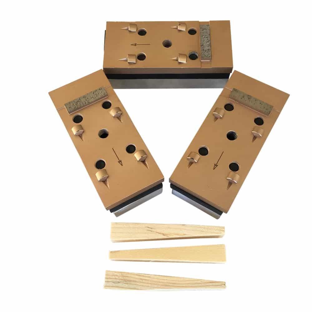 PCD Grinding Blocks for EDCO Floor Grinding Machines