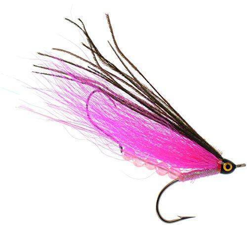 PEETZ Sockeye Slammer 4-Inch Pro Grade McFly Fly Fishing Lure | Deceiver Streamer Bucktail Clouser Wet Freshwater Saltwater | Pike Bass Perch Walleye Salmon Trout Dorado Tarpin Bonefish ()