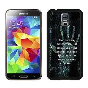 Genuine Samsung Galaxy S5 Phone Case Customized Samsung Galaxy S5 I9600 G900a G900v G900p G900t G900w Black Phone Case T1