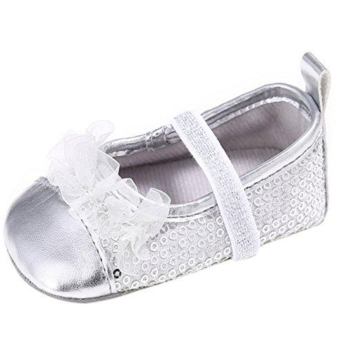Etrack-Online  Ballet,  Baby Mädchen Ballett Silber