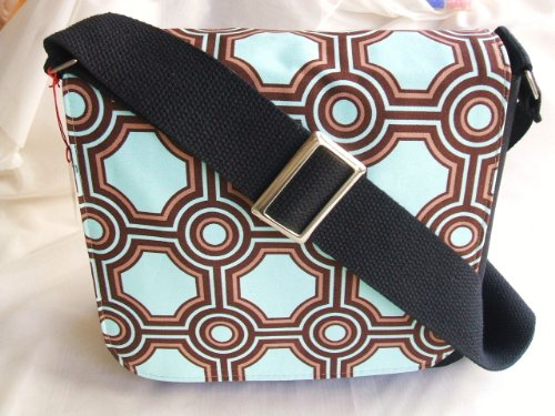 Flax Messenger Bag by Gifts and Beads