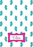 Personalized Custom Throw Blanket for Teens, Toddler, Children & Kids! Fun & Bright Graphics Blanket for Boys and Girls. Minky Soft and Snuggle Blanket, Make Your Own Blanket(Cactus Pink Font)