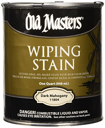OLD MASTERS 11804 WIP Stain, Dark Mahogany, 1 - Minwax Colors Stain