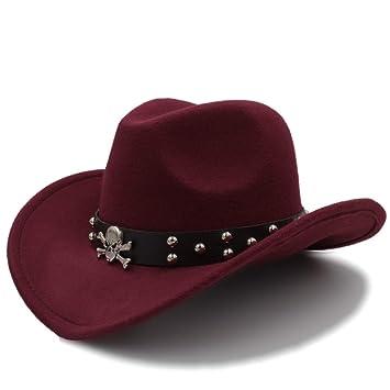 Wangc Panadero Sombrero Sombrero casero Unisex Moda Western Cowboy Hat Sólido Gorra turística Al Aire Libre de ala Ancha Jazz Gorras Gorras al por Mayor: ...