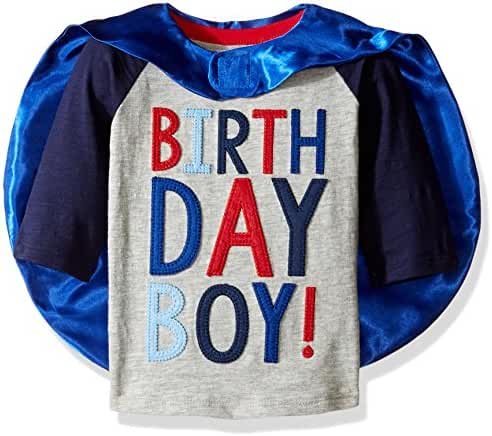 Mud Pie Baby Boys' Birthday T-Shirt
