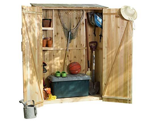 (All Things Cedar GH50U Storage Hutch and Storage Shed)