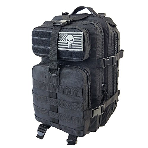 30L Army Tactical Combat Backpack Outdoor Trekking Army Backpack - 8