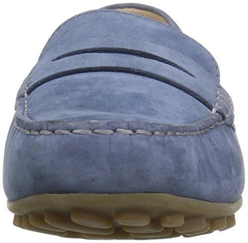 ECCO Devine Moc, Mocasines para Mujer Blau (2471RETRO BLUE)
