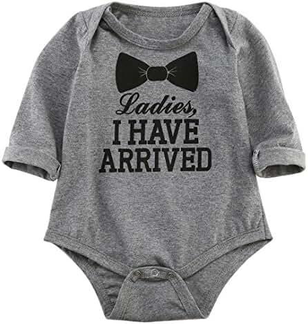 Newborn Baby Boys Girls Bowtie Short Sleeve Romper Bodysuit Playsuit Outfits