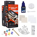 Visbella DIY Leather Repair and Vinyl Repair Kit - Patch Leather and Vinyl with Ease for Car Seats, Boat Seats, Shoes, Couches, Repair and More.