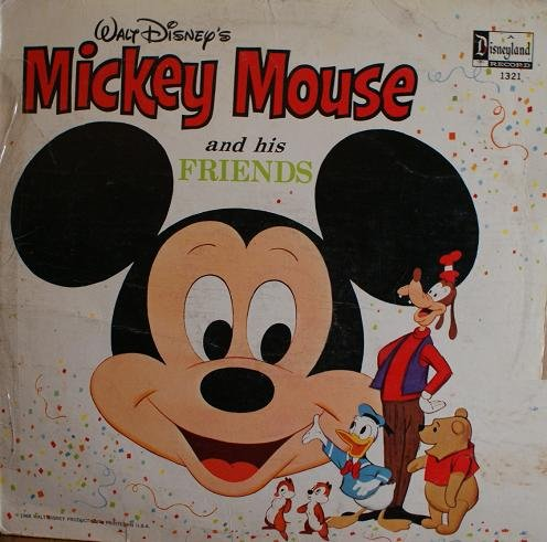 Mickey Mouse and His Friends by Disneyland Records