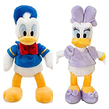 Disney DAISY e PATO DONALD Peluche Pequeño Set 20 cm