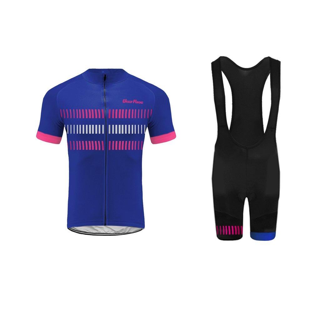 Uglyfrog Radtrikot Herren und Set Kurz Mode Sommer Sport & Freizeit Rennrad Fahrradbekleidung Radsport Hemd Polyester Bike Shirts Gemütlich DXMZ13F