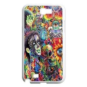 Trippy Design Samsung Galaxy Note 2 N7100 Back Plastic Case Cover
