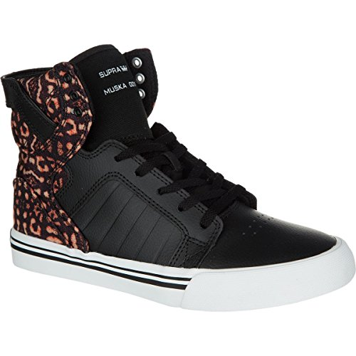 Supra Skytop Black Youths Trainers Black