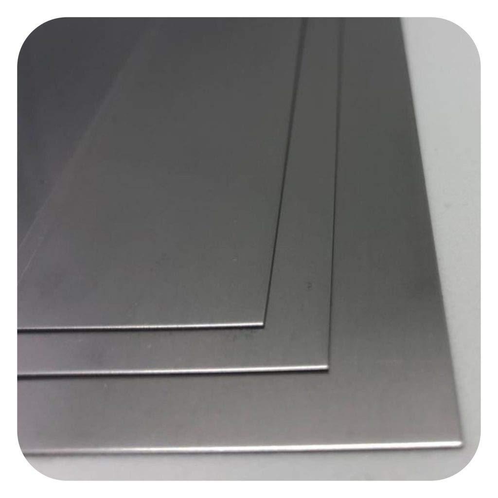 Edelstahlblech 1,5mm stark K240 geschliffen Edelstahlplatte V2A Blech Zuschnitte