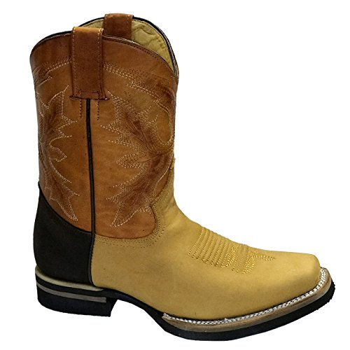 Boots Paso El Mens Tan Leather Grinders UISqw