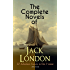 The Complete Novels of Jack London - 22 Adventure Classics in One Volume (Illustrated): The Call of the Wild, The Sea-Wolf, White Fang, The Iron Heel, ... the Moon, The Star Rover, Hearts of Three...