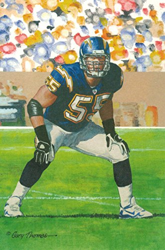 cheap for discount 33654 aa06d Amazon.com: Junior Seau Unsigned San Diego Chargers Goal ...