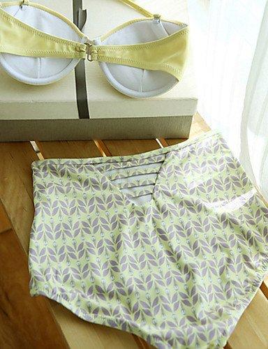 Damen Bikinis - Hochgeschnitten Elasthan Halfter , screen color-m , screen color-m