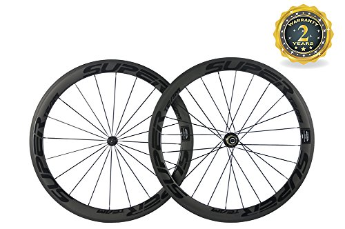 Superteam 50mm Carbon Basalt Braking Surface Wheel 700c Clincher Road Wheelset