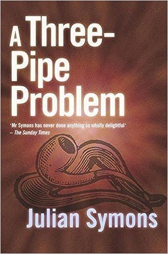 A Three Pipe Problem Sheridan Haynes By Julian Symons 2001 06 30 Books