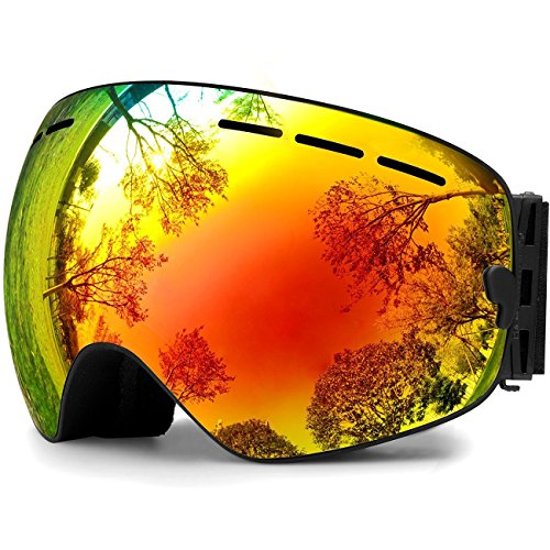 Loyal Winter Snowboard Goggles Glasses Skiing Men Women Snow Cycling Glasses Ski Goggles Double Layers Anti-fog Big Ski Mask To Enjoy High Reputation At Home And Abroad Workplace Safety Supplies