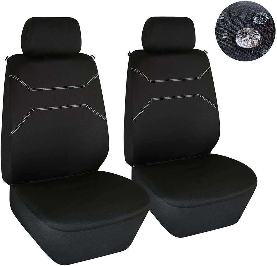 Black Rear Back Waterproof Car Seat Cover Protector For Nissan Note 2013 On