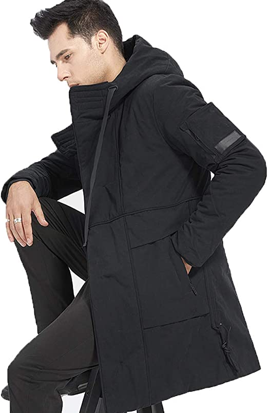 Chaqueta larga de algodón para hombre chaqueta de algodón de ...