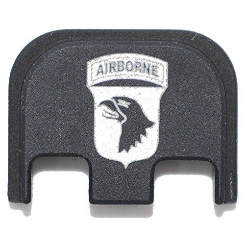 Tactical Gear Junkie 101st Airborne Rear Slide Back Plate Engraved for Glock Gen 5