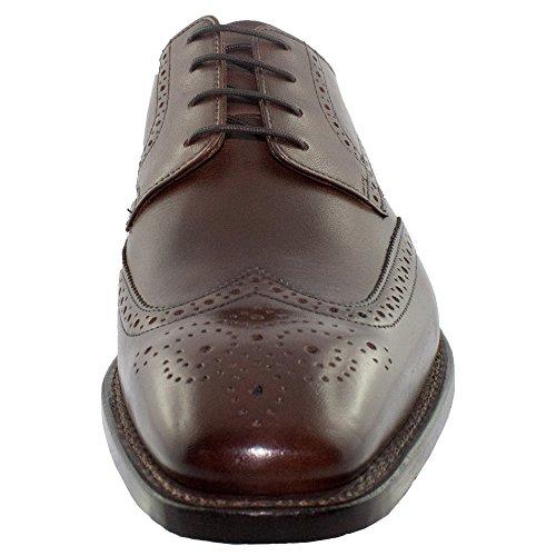 J.Briggs Goodyear, Scarpe Stringate Basse Derby Uomo cognac