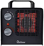 Dr Infrared Heater DR-838 Family Red Ceramic Space Heater with Adjustable Thermostat