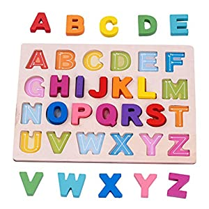Baybee Wooden English Alphabet and...