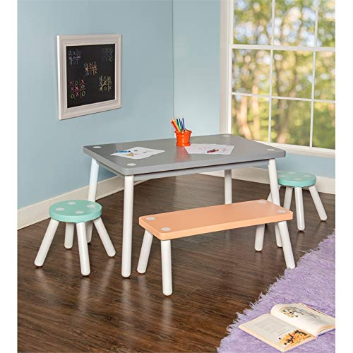 - Powell Youth Sherbert Table and Chair Set in Multi